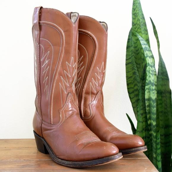 66115d8fd7d Men's est 10.5 Vintage FRAVE'L Mexico Cowboy Boots